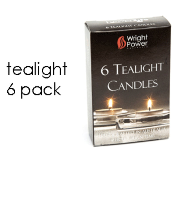 Tealights pack of six