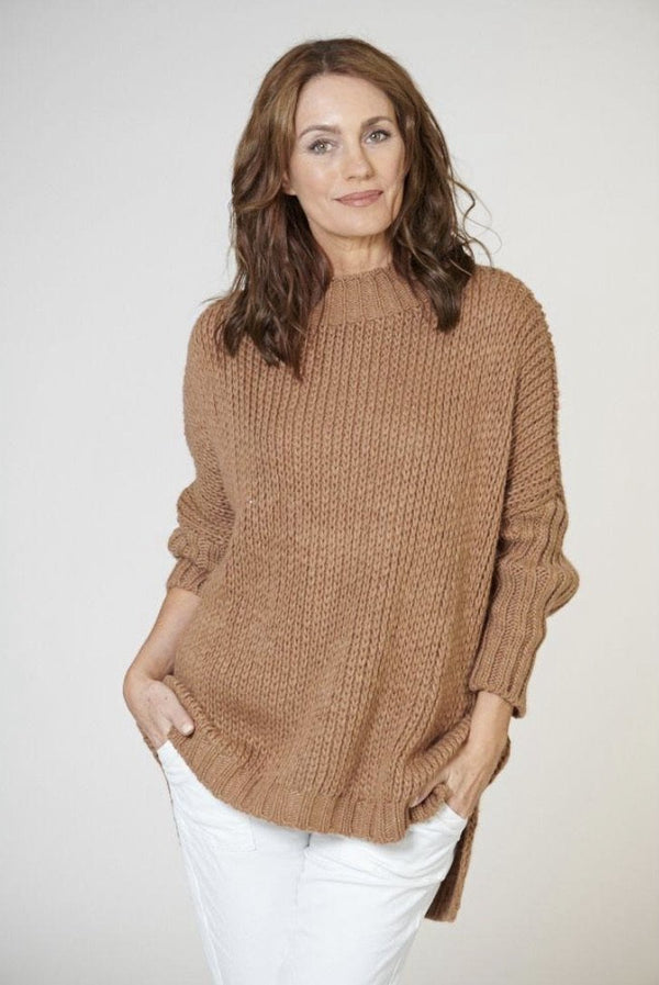 Italian Star Toasty Knit - Beige