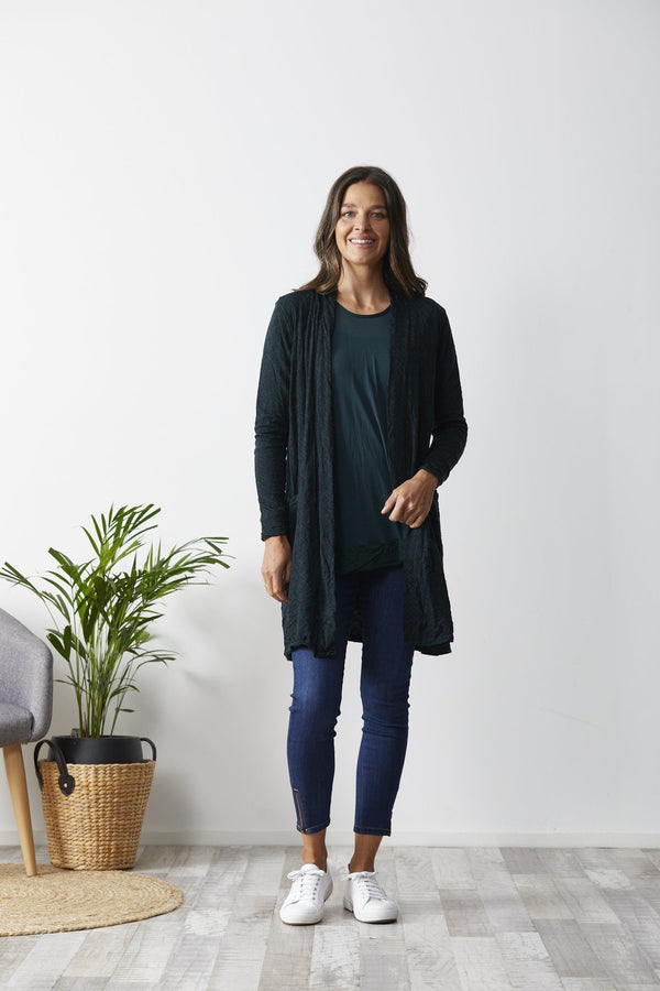 Vigorella Cable Pocket Cardi