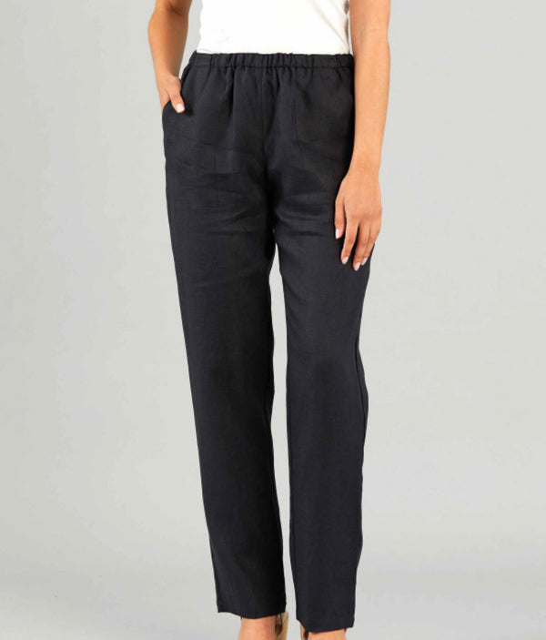 Yarra Trail Full Length Linen Pant