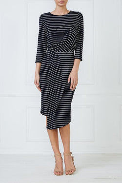 Mesop Onyx Tuck Front Dress