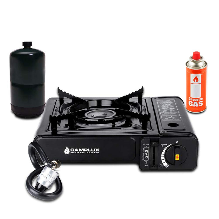 Camping Single Bruner Gas Stove - Three Wolves Provisions