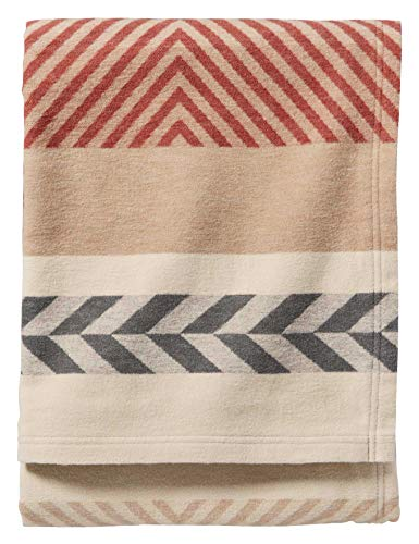 Mojave Twill Clay Organic Cotton Throw Blanket - Three Wolves Provisions