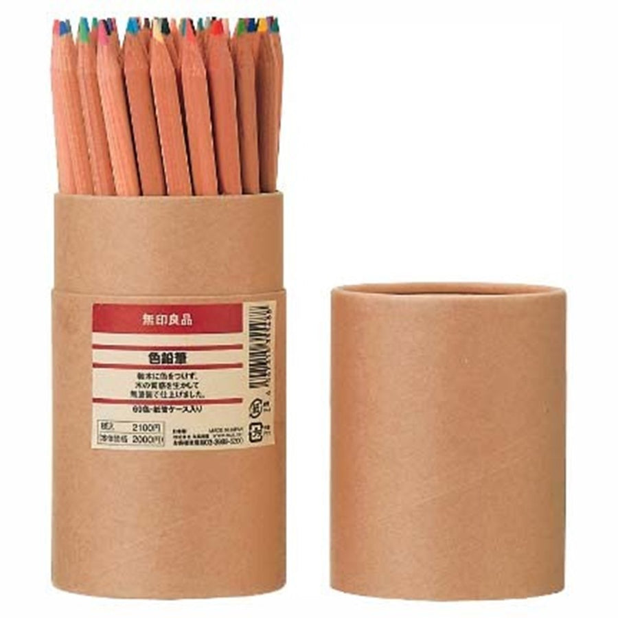 60 Colored Pencils - Three Wolves Provisions