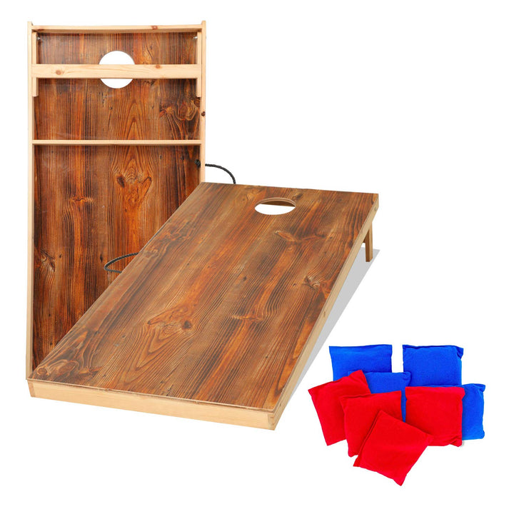 Solid Wood Cornhole Set - Three Wolves Provisions