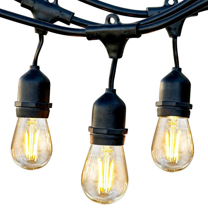 Ambience Pro - Waterproof LED Outdoor String Lights - Three Wolves Provisions