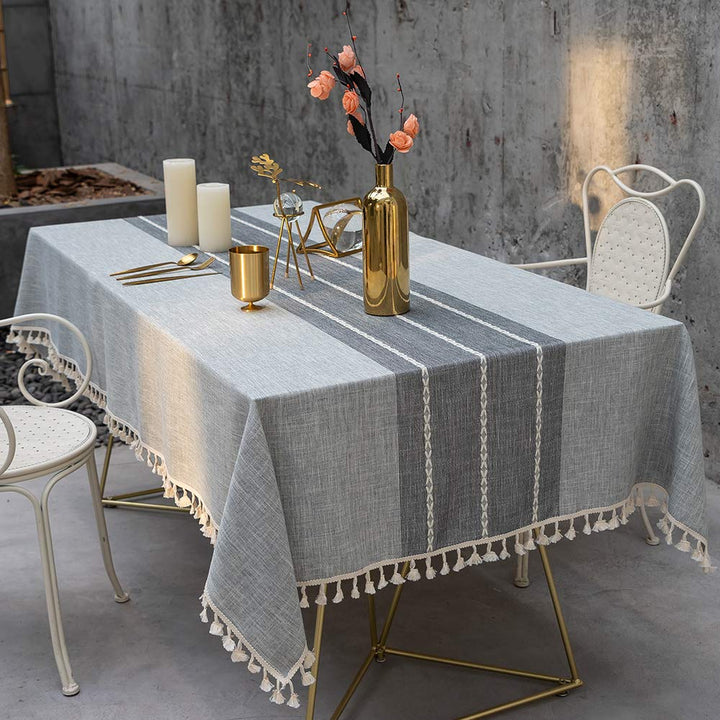 Wrinkle Free, Anti-Fading Tablecloth - Three Wolves Provisions
