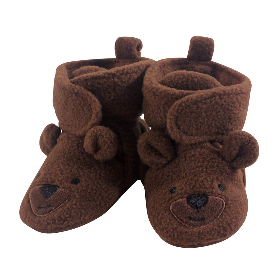 Baby Cozy Fleece Booties - Three Wolves Provisions