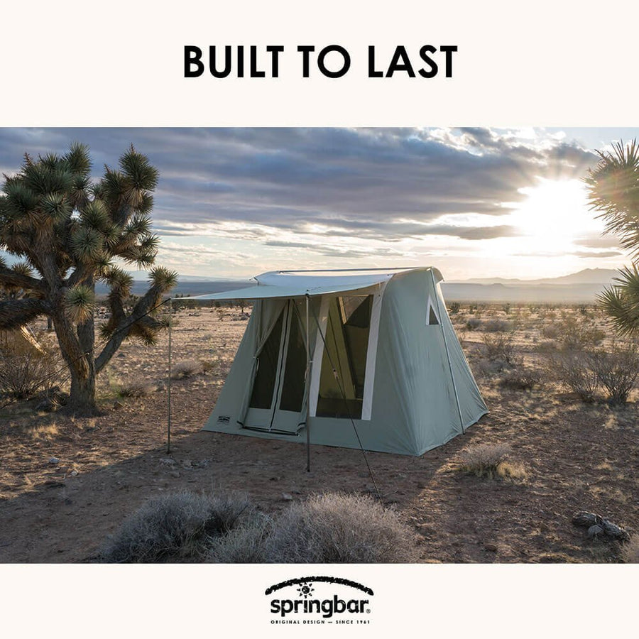 Canvas Tent 6-Person Tent - Three Wolves Provisions