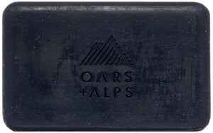 Natural Blue Charcoal Oars Bar Soap - Three Wolves Provisions