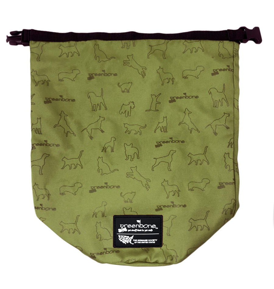 Nylon Self Folding Travel Food Bag - Three Wolves Provisions