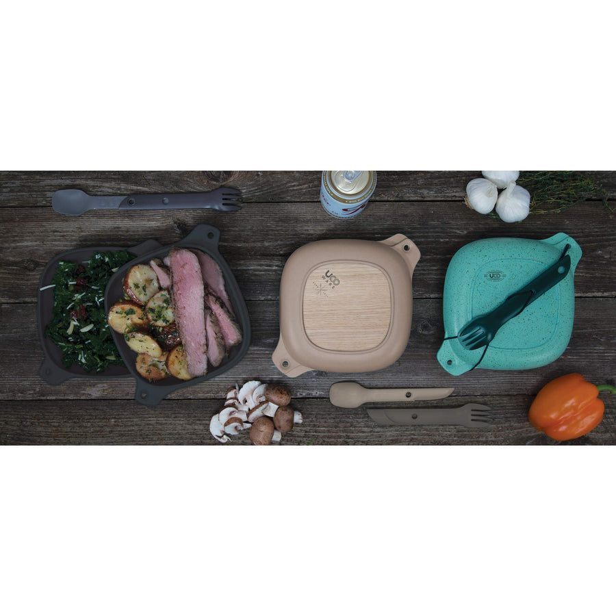 Non-Plastic 5-Piece Lunch Kit - Three Wolves Provisions