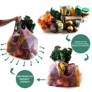 Reusable Grocery Bags - Three Wolves Provisions
