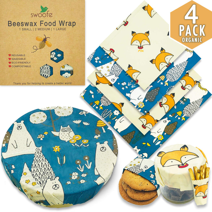 Beeswax Food Wrap - Three Wolves Provisions