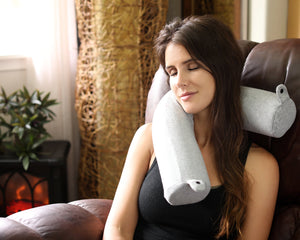 Twist Memory Foam Travel Pillow - Three Wolves Provisions
