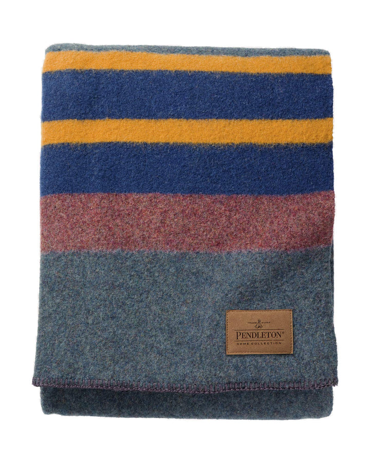 Yakima Camp Wool Blanket - Three Wolves Provisions
