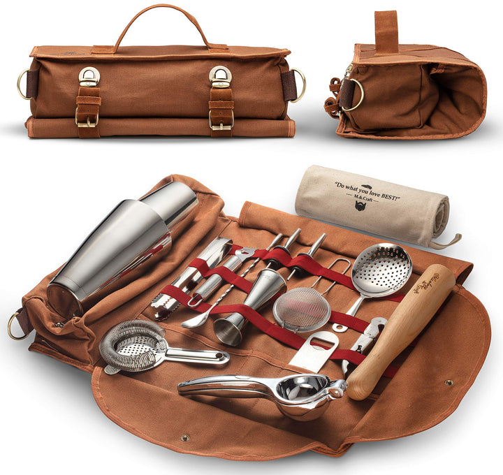 Travel Bartender Kit Bag - Three Wolves Provisions