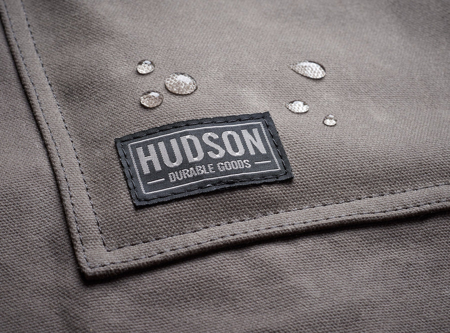 Heavy Duty Waxed Canvas Work Apron - Three Wolves Provisions