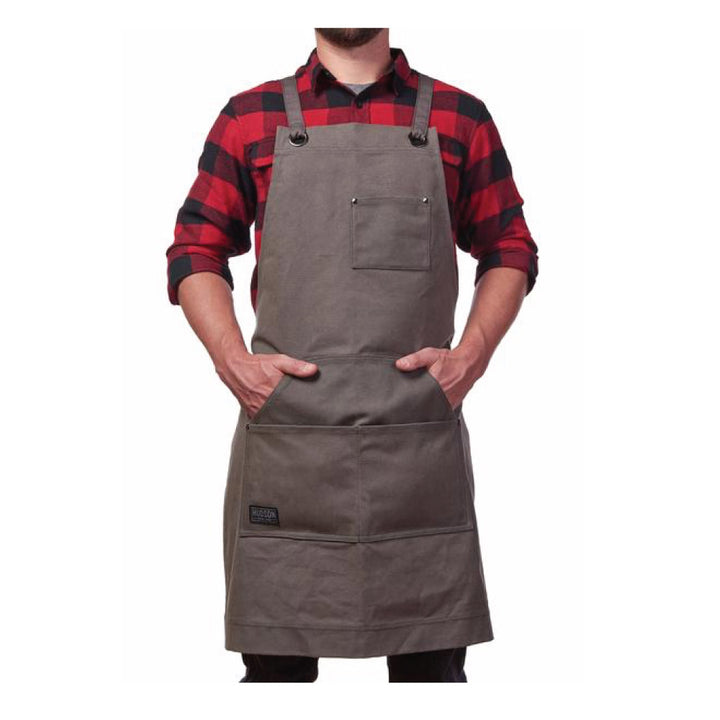 Heavy Duty Waxed Canvas Work Apron