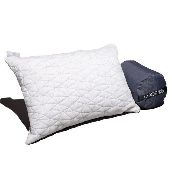 Travel Pillow w/ Bamboo Cover