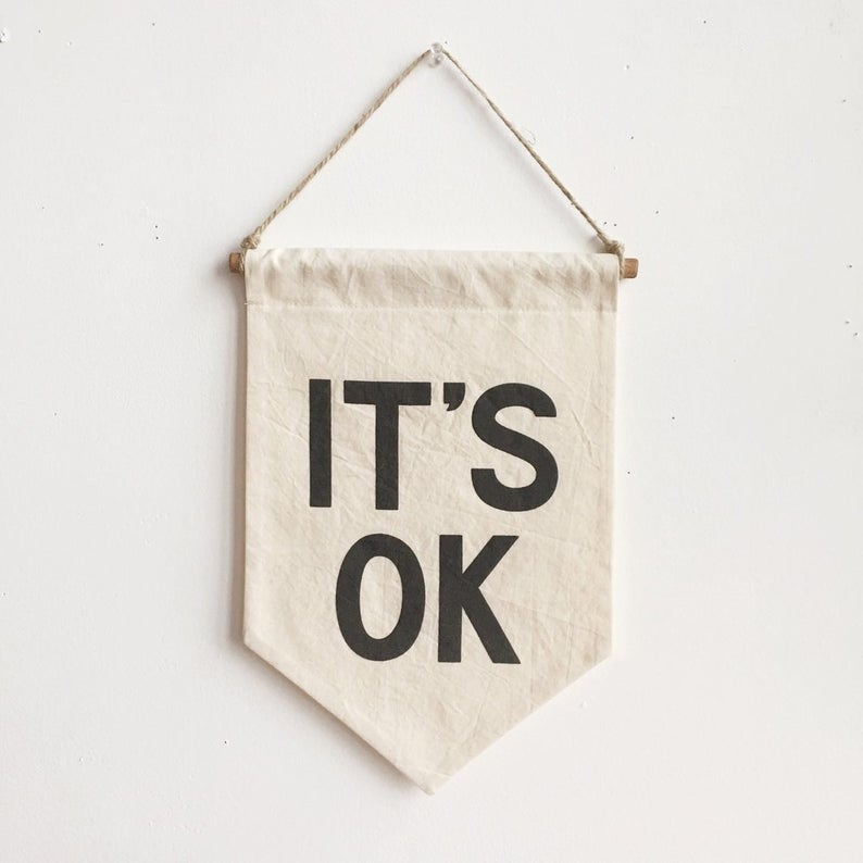 It's OK Banner - Three Wolves Provisions
