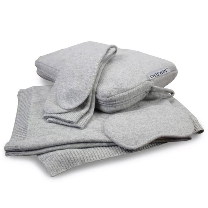 Jet&Bo Cashmere Travel Set - Great Travel Gift!