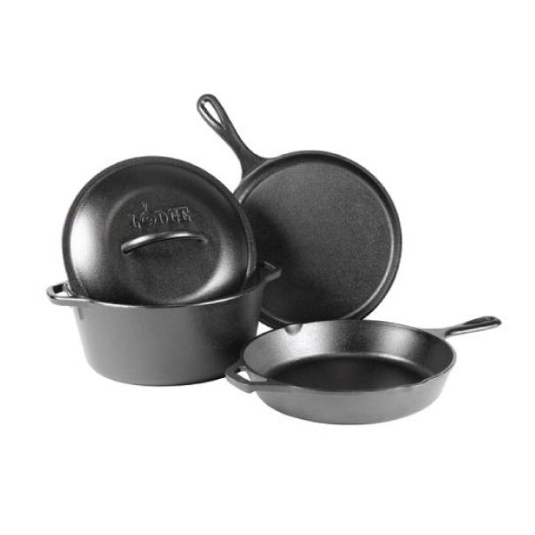 Cast Iron 4-Piece Set
