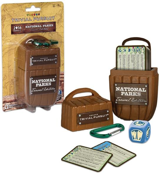 National Parks Trivial Pursuit Game - Three Wolves Provisions