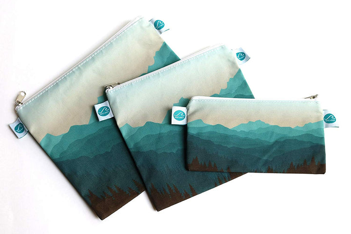 Reusable Sandwich & Snack Bags - Three Wolves Provisions