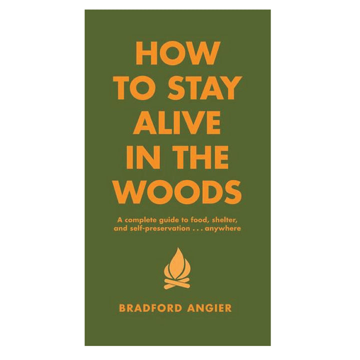 How to Stay Alive in the Woods - Three Wolves Provisions