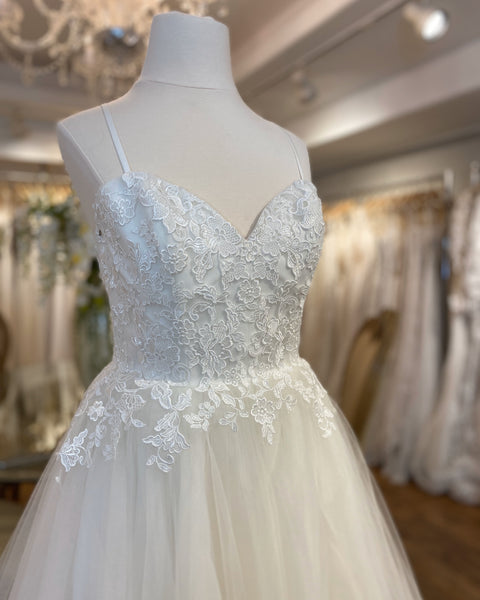 BL213 Cherish by Casablanca Bridal - Modifed