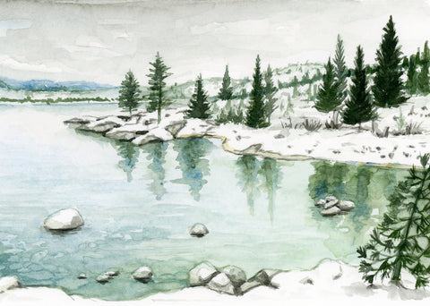 Lake Tahoe - Priscilla George Fine Art