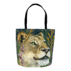 Flowers In Your Hair Tote Bag - Priscilla George Fine Art