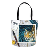 Treasures of the Tide Tote Bag - Priscilla George Fine Art
