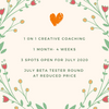 Creative BFF - 1 on 1 Creative Coaching October 2020