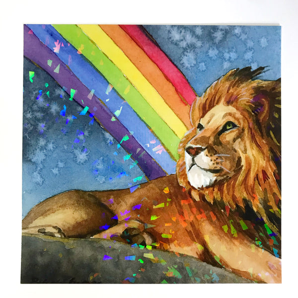 Holographic - End of the Rainbow - Priscilla George Fine Art