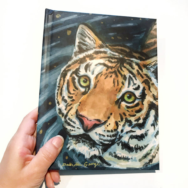 Tiger Journal - Priscilla George Fine Art