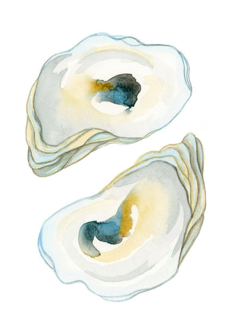 Oysters Pair - Priscilla George Fine Art