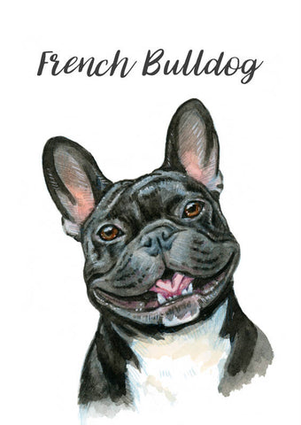 Frenchie - black- - Priscilla George Fine Art
