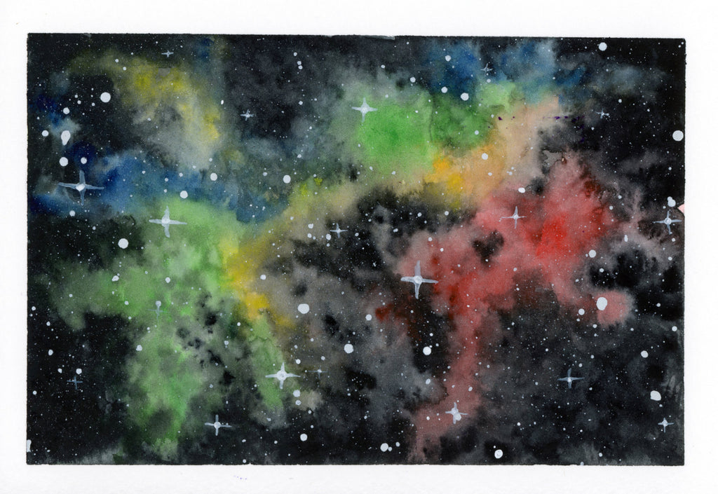 Rainbow Galaxy - Priscilla George Fine Art
