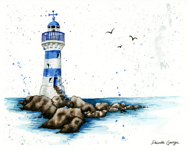 Lighthouse - Priscilla George Fine Art