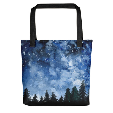 Forest Night Tote - Priscilla George Fine Art