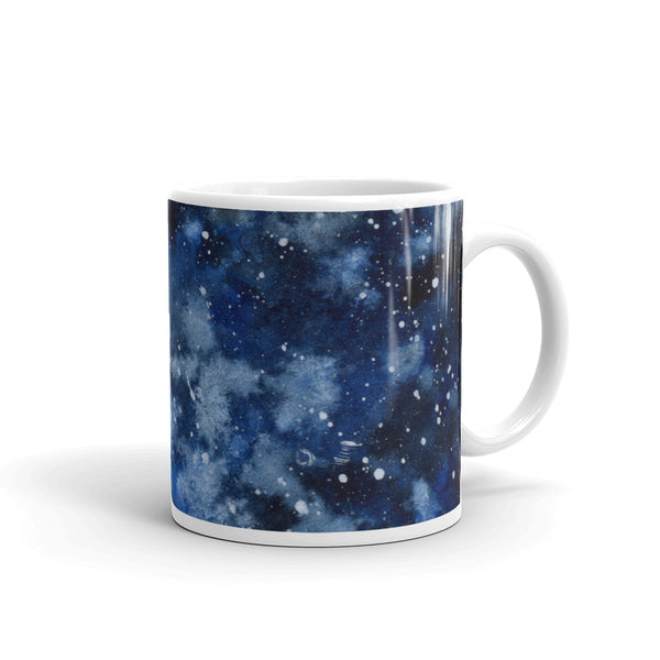 Galaxy Night Mug - Priscilla George Fine Art