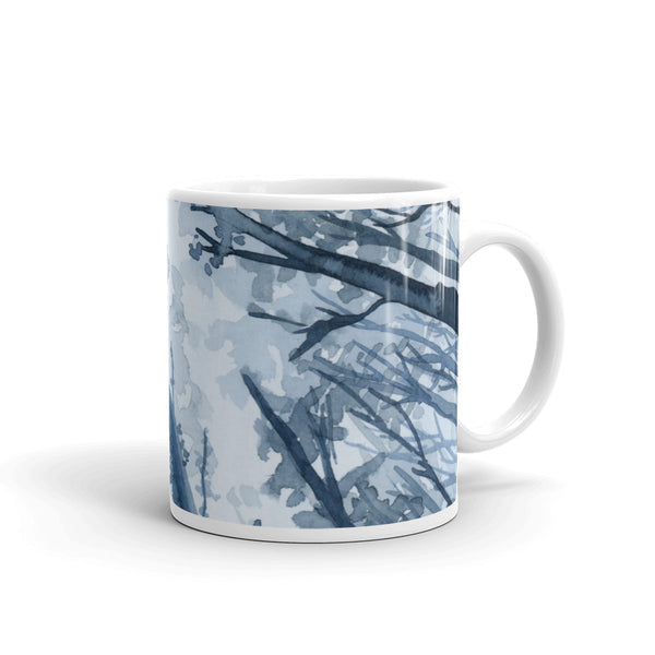 Blue Forest Mug - Priscilla George Fine Art