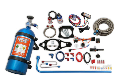 NOS Plate Wet Nitrous System 10LB Blue Bottle - GM 05218NOS