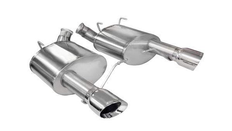 Corsa 11-14 Ford Mustang GT/Boss 302 5.0L V8 Polished Sport Axle-Back Exhaust
