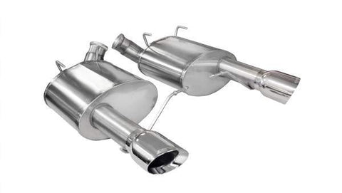 Corsa 11-14 Ford Mustang GT/Boss 302 5.0L V8 Polished Xtreme Axle-Back Exhaust 14317