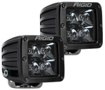 Rigid Industries D-Series Midnight Edition - Spot - Set of 2 202213BLK