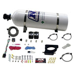 Nitrous Express GM LS 78mm 3-Bolt Nitrous Plate Kit (50-350HP) w/15lb Bottle 20935-15