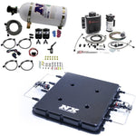 Nitrous Express Nitrous & Water Injection Kit w/Billet LT4 Supercharger Lid w/10lb Bottle 20939BMF-10